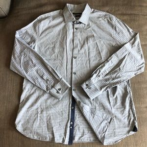 John Varvatos Super Slim Flannel